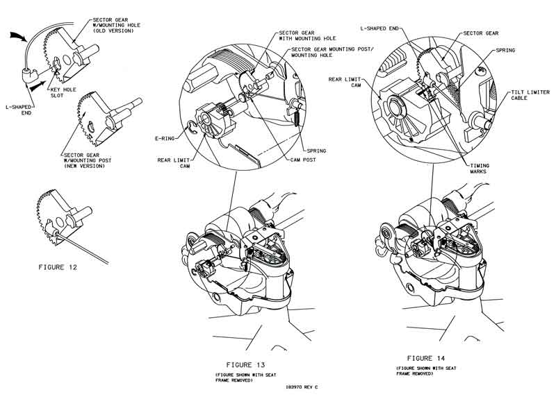 Aeron 174 Gear Amp Tilt Limiter Cable Replacement
