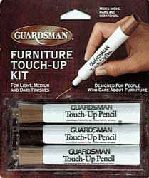 Wood Furniture Touch Up Kits Softwax Wood Fillers And